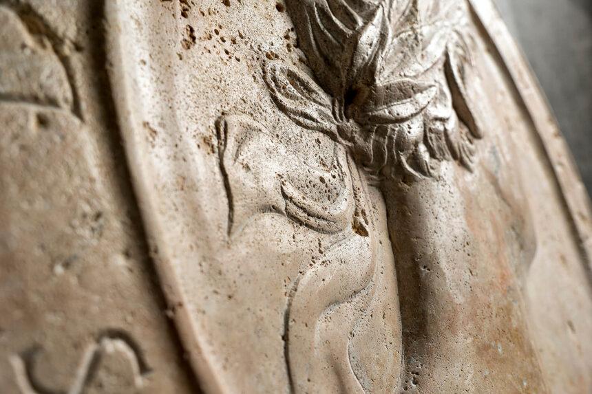 piedra, talla, roma, decoración, mármol, piedra, clásico, atemporal, exclusivo, interior, antiguo